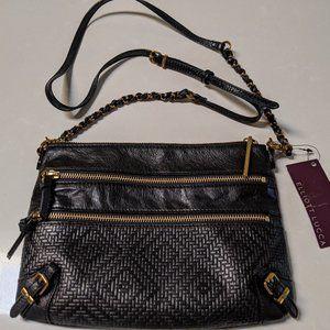 Elliott Lucca leather cross body bag